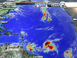 Watching 3 areas in the tropics