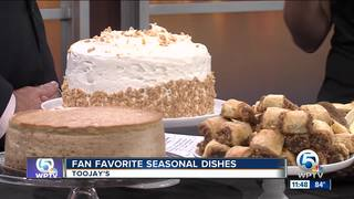 Seasonal dishes from TooJay's