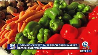 West Palm Beach Green Market begins Oct. 6