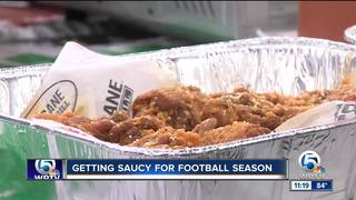 Buffalo sauce, chicken wings recipe (10/3/18)