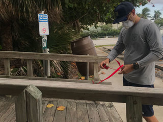 Red tide could impact area through Friday