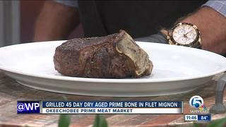 Okeechobee Steakhouse cooks up filet mignon