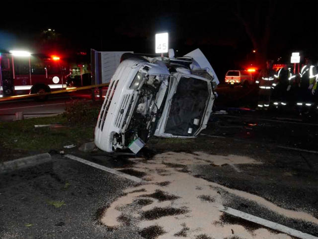Driver Dies In Single Vehicle Crash In Port St Lucie