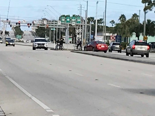 Jupiter police focus on Indiantown Road cyclists