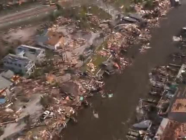 Hurricane Michael: Aerial Video Shows Widespread