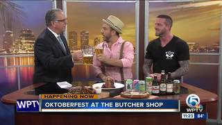 Oktoberfest at the Butcher Shop