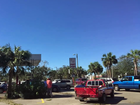 Long lines form to get gas in Apalachicola