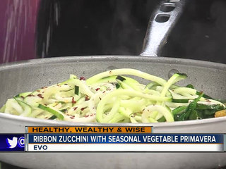 Ribbon zucchini recipe (10/15/18)