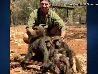 Wildlife official criticized for hunting trip