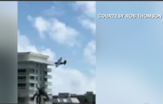 Low flying plane in Jupiter causes concern