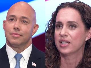 Rep. Brian Mast, Lauren Baer debate on WPTV