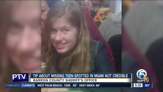 Miami tip about missing Wisconsin deemed not credible