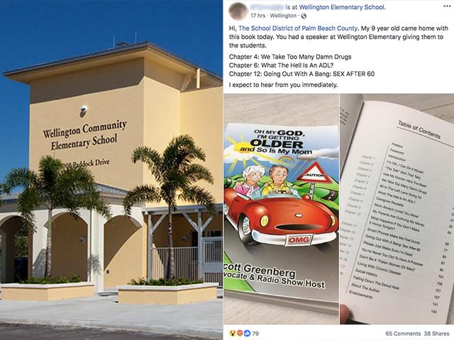Nogle forældre oprørt gruppe gav Wellington grundlæggende studerende bog med kapitler som-8751