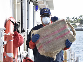 Coast Guard offloads $47 million in drugs