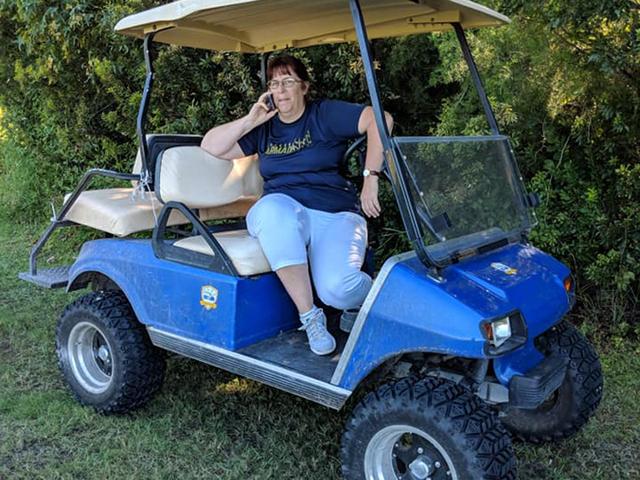 Survival Golf Cart on survival trailer, survival dune buggy, survival chain saw,