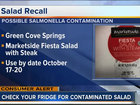 GHSE, LLC recalls salads containing meat product