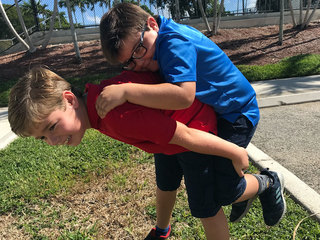 Boca boy to be honored for saving brother's life