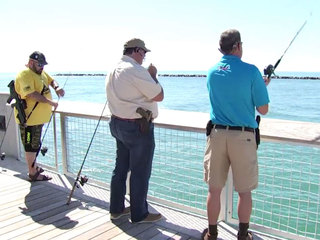 Open carry advocates go fishing with guns