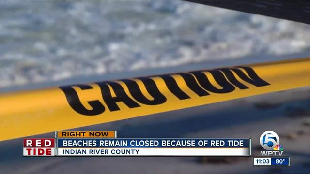 Beaches closed due to red tide conditions in Indian River County