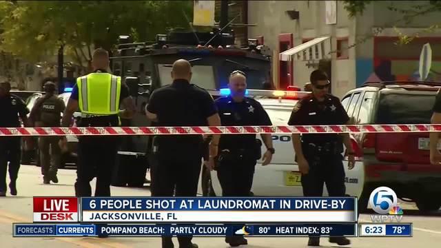 Six people shot near Jaguars stadium in Jacksonville