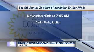 8th annual Zoe Loren Foundation 5K Run/Walk
