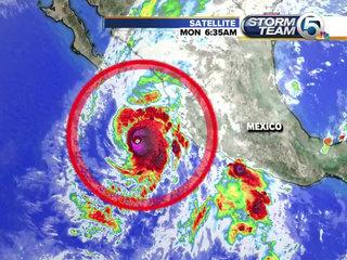 Hurricane Willa takes aims at Mexico