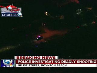 Police ID man, 29, fatally shot in Boynton Beach
