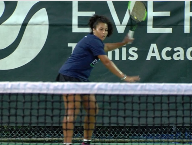 16-year-old budding tennis star moves to Boca from West Coast- inspired…