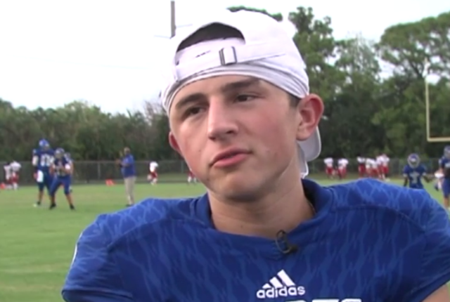 Spanish River football player hopes to turn serious head injury into…