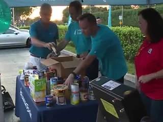 All-day food drive today in Boynton Beach