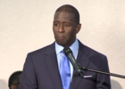 Andrew Gillum visits Boynton Beach church