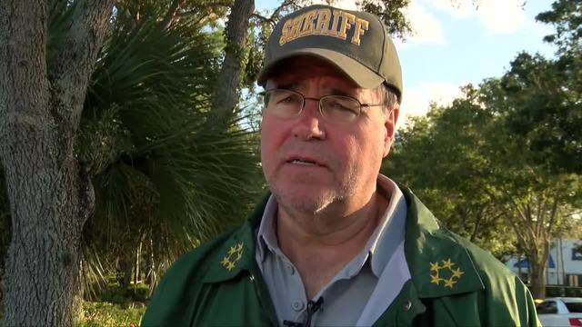 Sheriff Mascara discusses suspect killed in Fort Pierce on Saturday