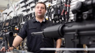 Alex Shkop, owner of Guns & Range Training Center in West Palm Beach, does not want gun owners to be victimized twice.