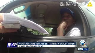 Venus Williams reaches settlement in fatal crash