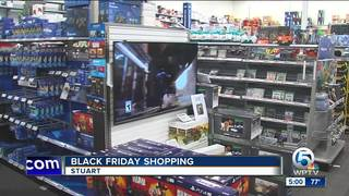 Shoppers still participate in Black Friday