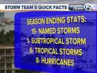 2018 Atlantic hurricane season ends Friday
