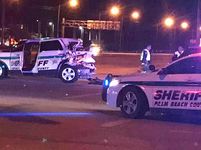 PBSO deputy injured in Royal Palm Beach crash